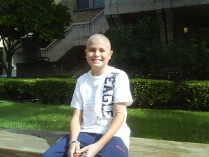 Bradley was diagnosed in September of 2008 with lymphoblastic lymphoma, a type of non-Hodgkin's lymphoma caused by a cancerous growth of cells in the lymphatic system.